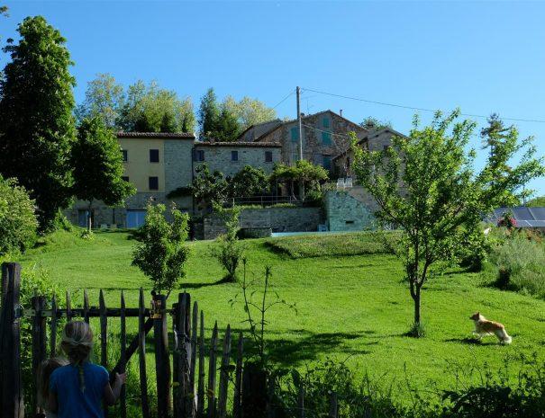 Casa Calénc huis en tuin
