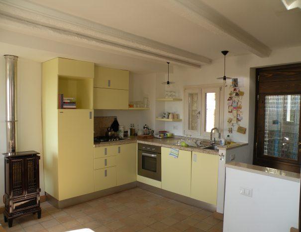 De keuken van Casa Calénc 137
